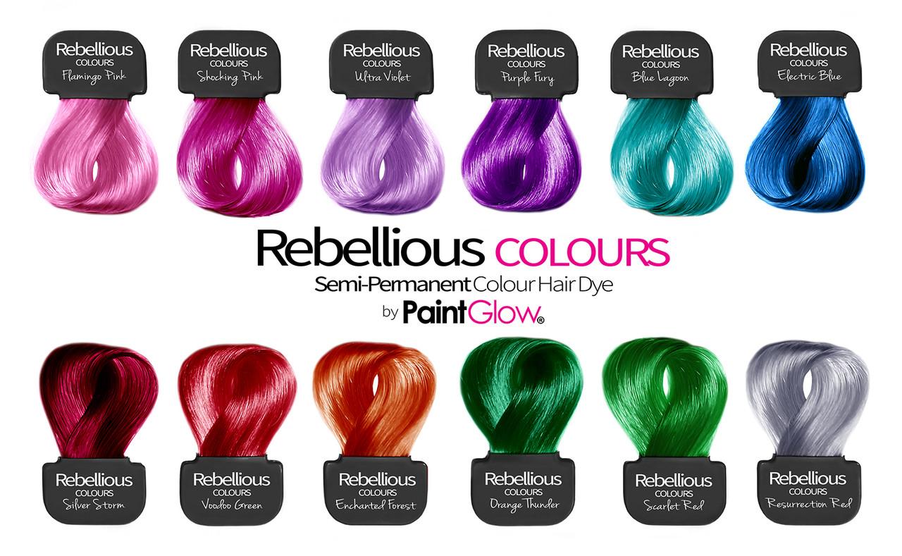 Инструкция по окрашиванию Rebellious от PaintGlow