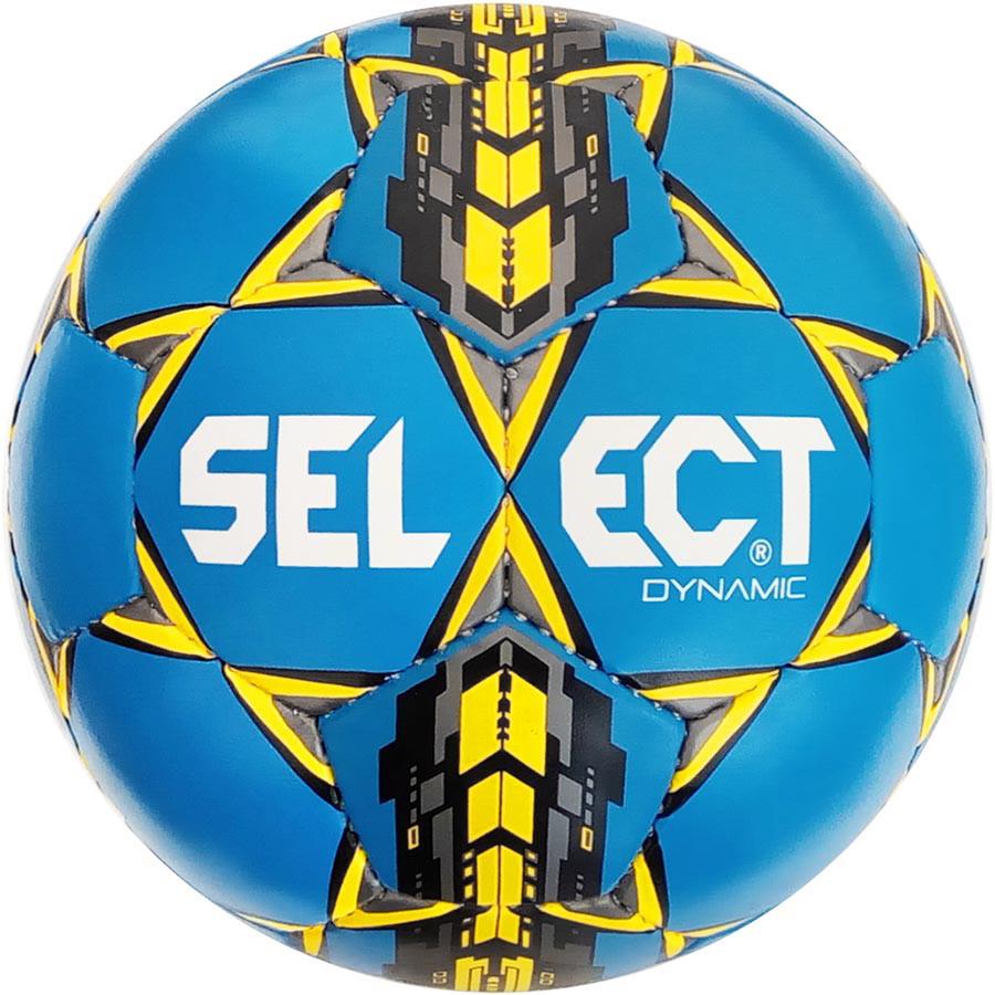 Мяч футбольный SELECT Dynamic Синий/Желтый/Черный 5 р.