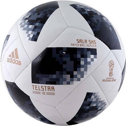 Мяч футзальный Adidas Telstar Sala Futsal CE8144, фото 2
