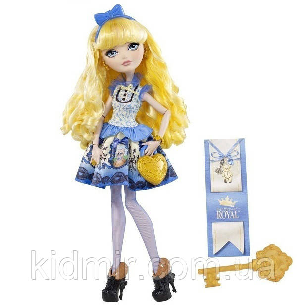 Кукла Ever After High Блонди Локс (Blondie Lockes) Базовая Школа Долго и Счастливо