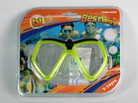 Очки-маска  для плавания детские / 22040 / 7-14 лет / Цвета в ассорт 16x9x8 см