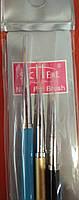 НАБОР КИСТЕЙ ДЛЯ РИСОВАНИЯ Nail Art Brush , 3 ШТ. , фото 5