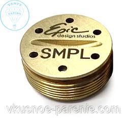 Кнопка для мехМОДа SMPL (латунь)