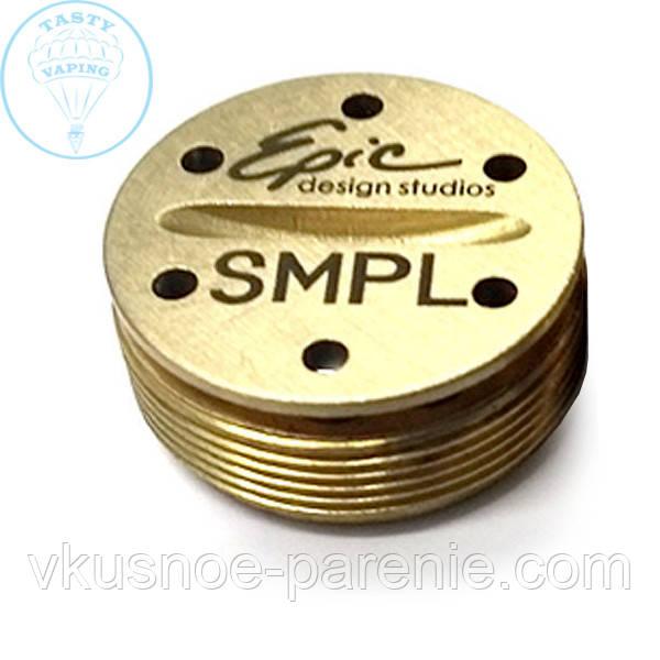 188c721031913 Кнопка для мехМОДа SMPL(латунь) - Vape shop