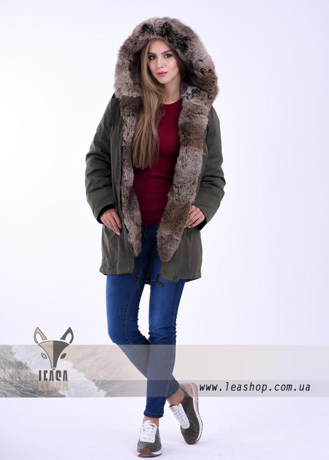 fd418710258 Парка женская зимняя с натуральным мехом купить Украина - Женские шубы и  меховые жилетки от Украинского