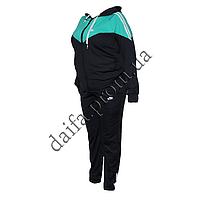Женский спортивный костюм эластан БАТАЛ R131-2 (р-р 50-56) пр-во Украина оптом в Одессе