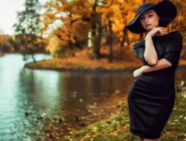 Женские стильные платья с длинным рукавом