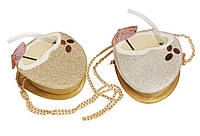 Сумка підліткова KIDIS для дівчинки 19 * 18,5 * 8,5 см Коктейль у кокосі