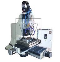 Фрезерный 3-х осевой станок по металлу с ЧПУ VSS-102 X/Y/Z - 360/360/120