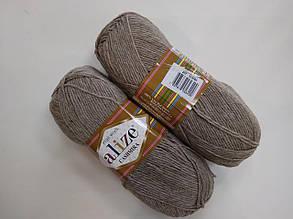 Пряжа для вязания Кашемир ALIZE беж креатив