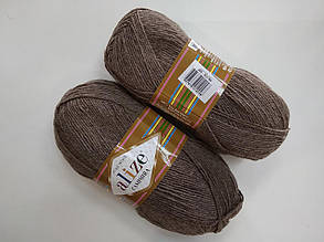 Пряжа для вязания Кашемир ALIZE светло-коричневый