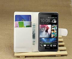 Чехол подставка для HTC Desire 601 белый