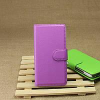 Чехол подставка для HTC Desire 601 фиолетовый