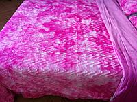 Меховое покрывало одеяло из искусственного меха