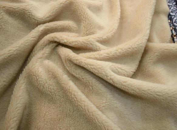 Искусственный мех овчина темно-бежевая 450г/м.кв, фото 2