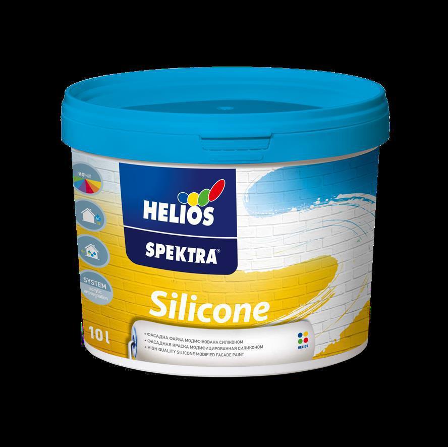 SPEKTRA Silicone, силиконовая фасадная краска, 2 л.