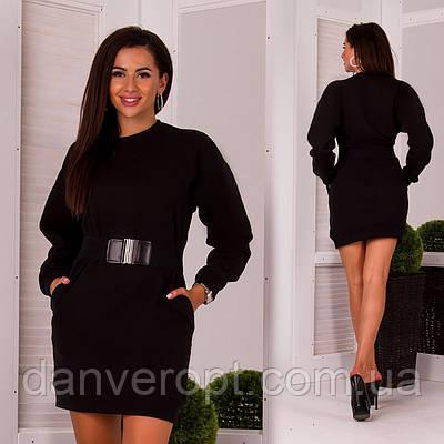 c27db59e2c9 Платье женское молодёжное с ремнём размер S-L купить оптом со склада 7км  Одесса