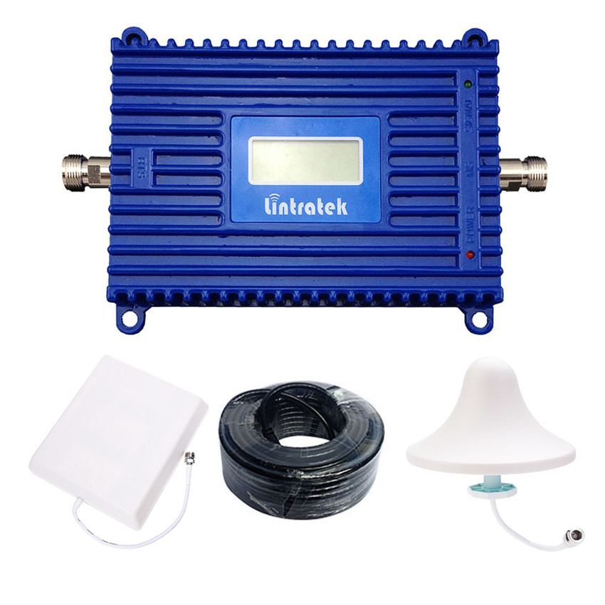 DCS усилитель сигнала репитер Lintratek KW20L-DCS 1800 комплект Оригинал
