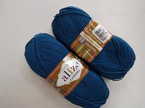 Пряжа для вязания Кашемир ALIZE петрольный
