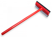 Скребок 20см, з дерев'яною ручкою 52 см, ES9412
