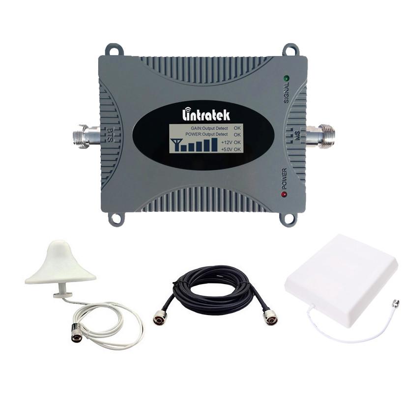 Усилитель 3G сигнала репитер Lintratek KW16L WCDMA 2100 комплект