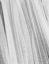 Тюль гипюр Соренто Белый, готовая тюль 3м, фото 3