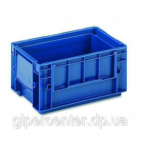 Пластиковый ящик RL-KLT 3147 с гладким дном (297х198х147.5 мм) голубой