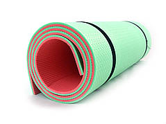 Каремат Camping 16мм. 180х60х16 красно-зеленый