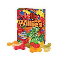 Желейные конфеты в форме пенисов Jelly Willies, 120 гр.