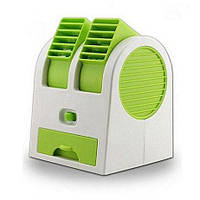 Мини кондиционер Conditioning Air Cooler USB Electric Mini Fan (Air Fan-green), фото 1