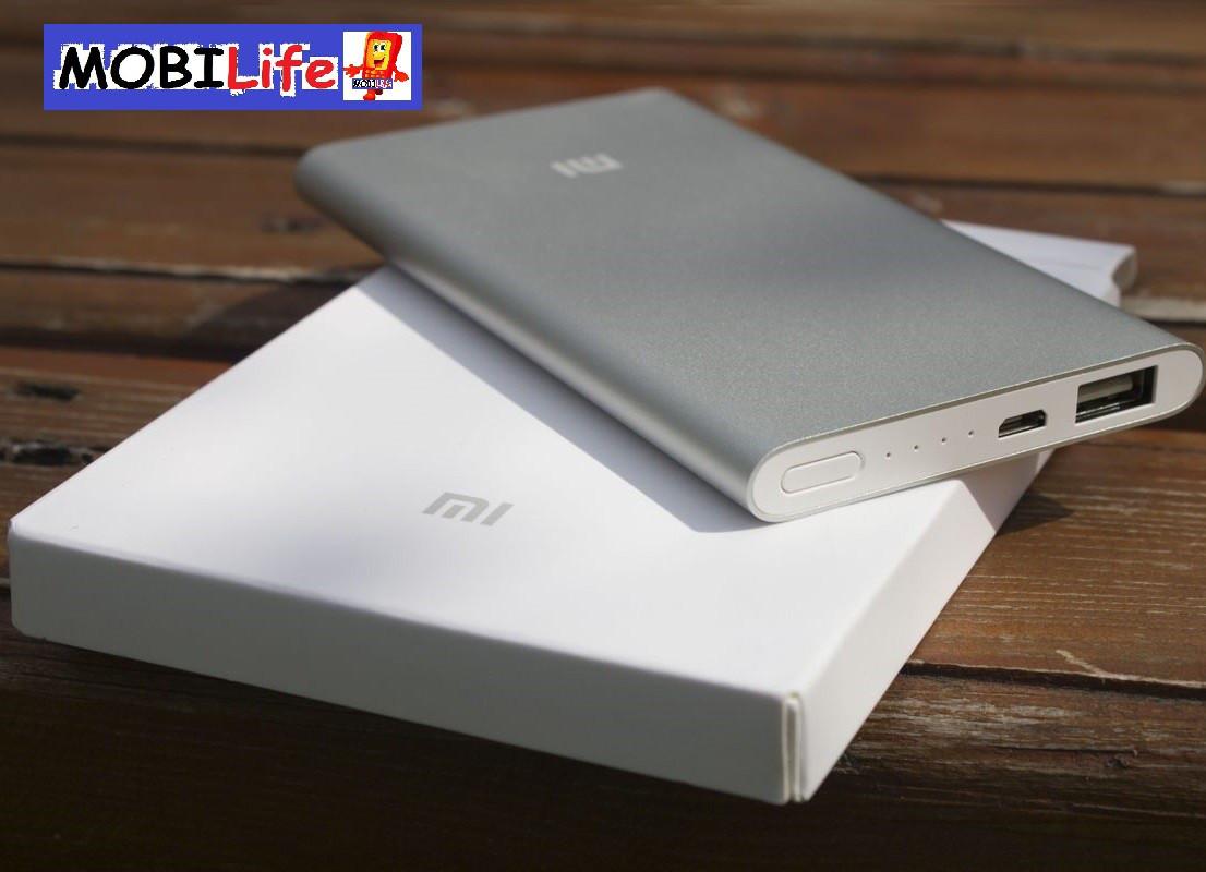 Power Bank Xiaomi Original 5000mAh Silver