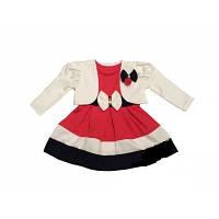 Нарядное платье красивое, детское Грета размер 26, 28, 30, 34 платье и болеро  ,   купить