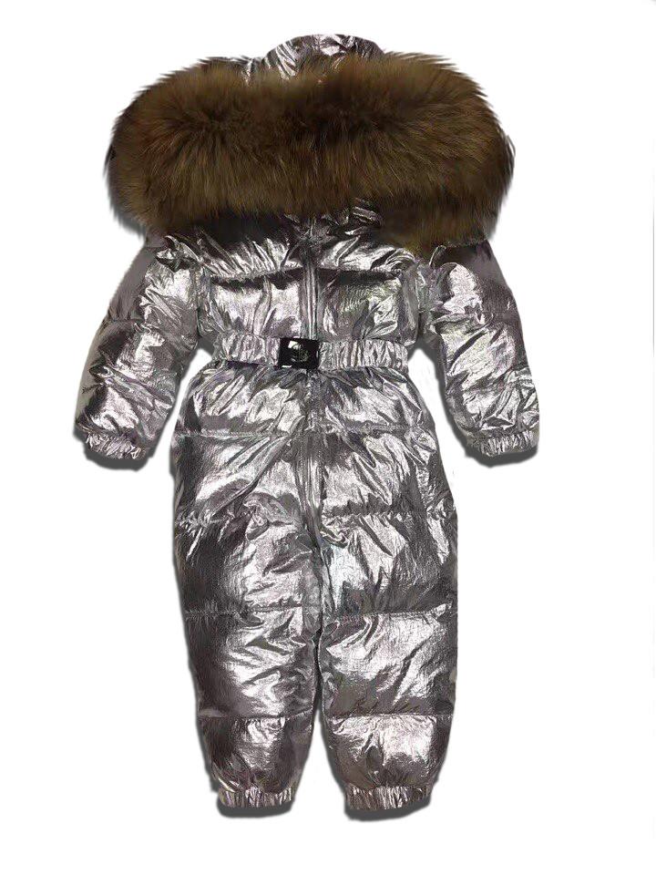 Детский зимний комбинезон Sabbi серебристый с блеском - SABBI SHOP Интернет  магазин в Киеве 7b8ad6013a3