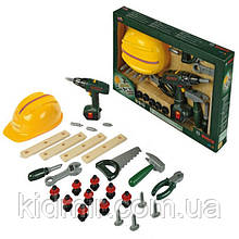 Набір інструментів з каскою і шуруповертом BOSCH Klein 8418