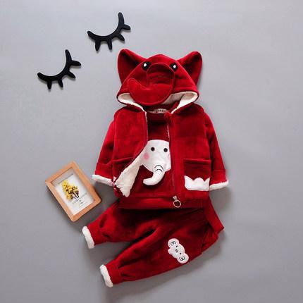 Детский теплый костюм тройка, фото 2
