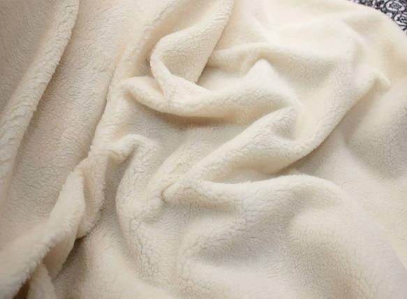 Хутро штучне овчина світло-бежева 450г/м. кв, фото 2