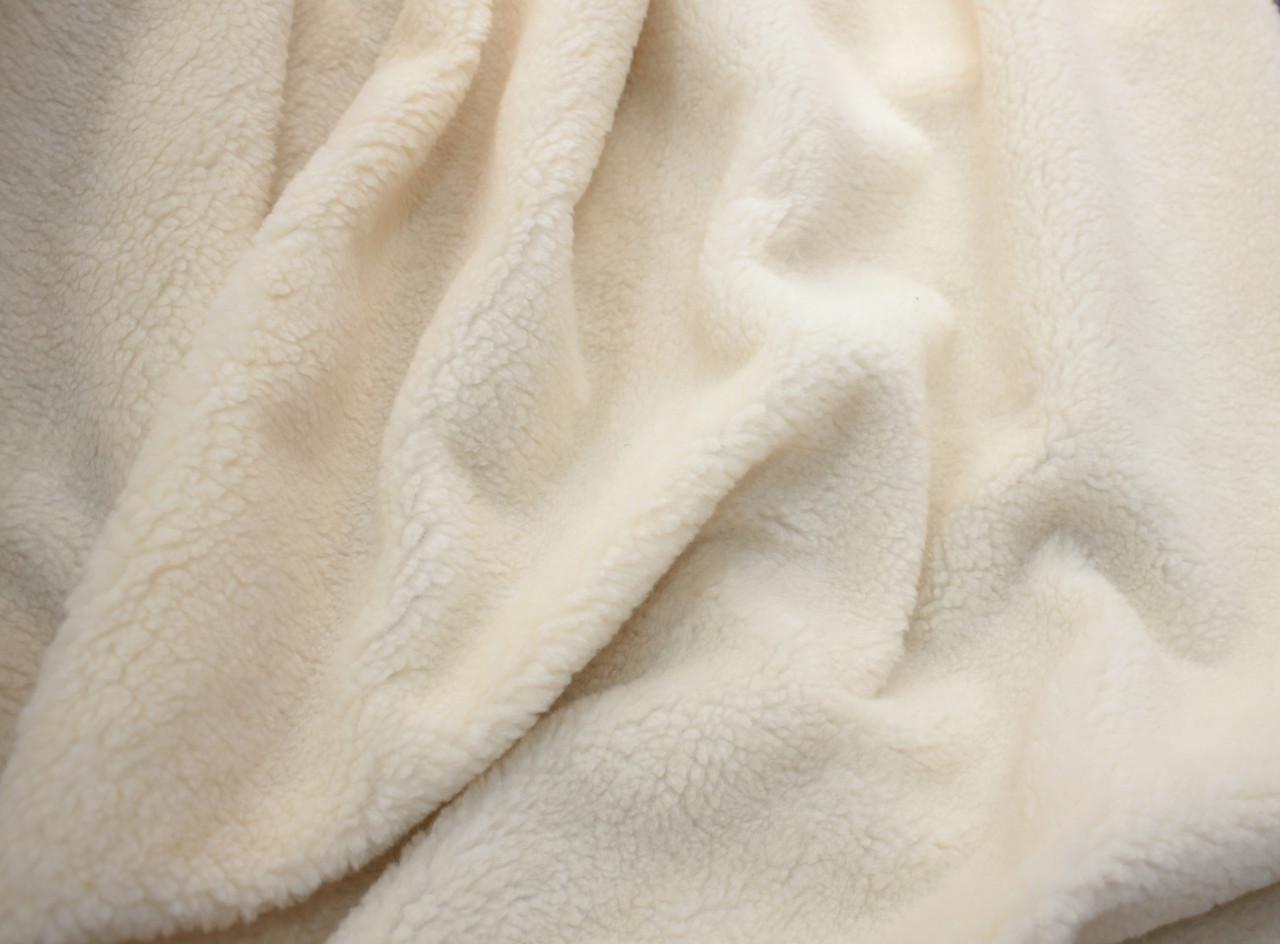 Хутро штучне овчина світло-бежева 450г/м. кв