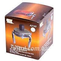 Съемник фильтра краб прямой 65-120 мм TJG А2102