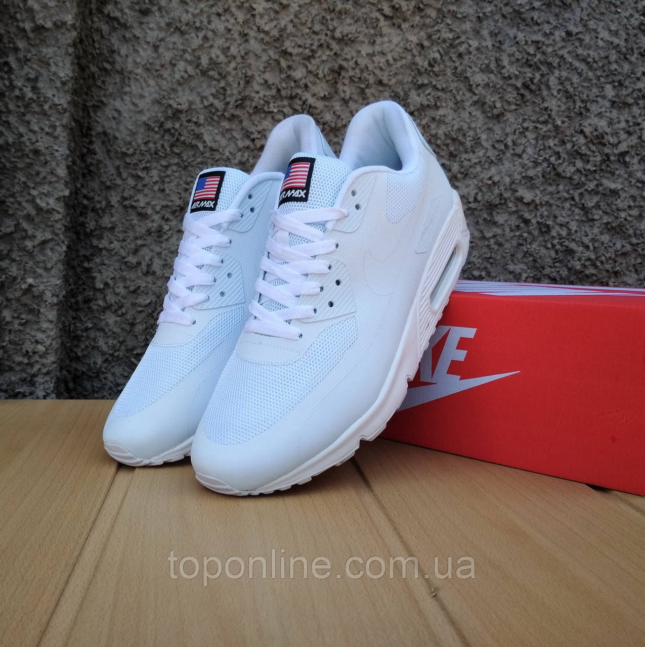 Кроссовки Nike Air Max Hyperfuse Independence Day white - В кроссовках UA в  Запорожье 6f2319dfd05