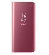 Чехол-книжка Original mirror Samsung A320 A3 2017 Pink