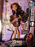 Кукла Монстер хай Клодин Вульф из серии Путешественницы ( Monster High Travel Scaris Clawdeen Wolf)