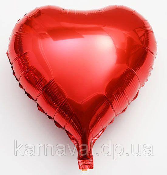 Кульки-серця фольговані