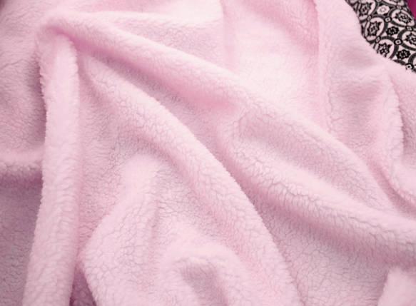 Искусственный мех овчина розовая 450г/м.кв, фото 2