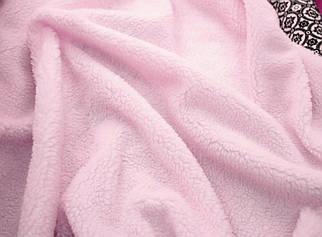 Искусственный мех овчина розовая 450г/м.кв