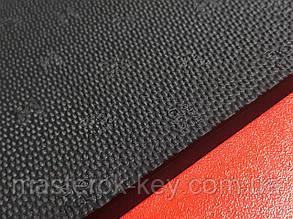 Резина набоечная GTO (Happy Gum) Украина 500*500*7мм Тип 1 жесткая цвет чёрный