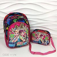 "Детский рюкзак и сумочка 3d ""Холодное сердце"""