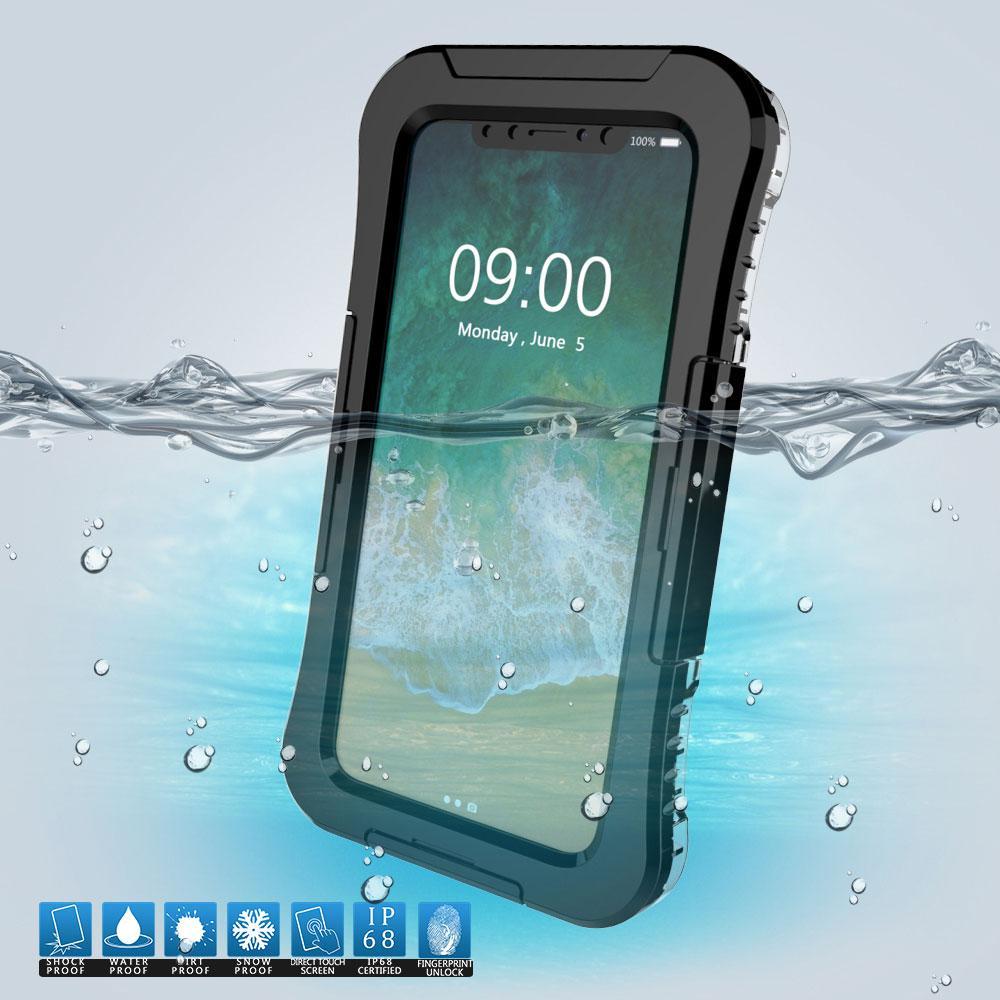 Підводний чохол аквабокс Primolux для Apple iPhone X / XS - Black