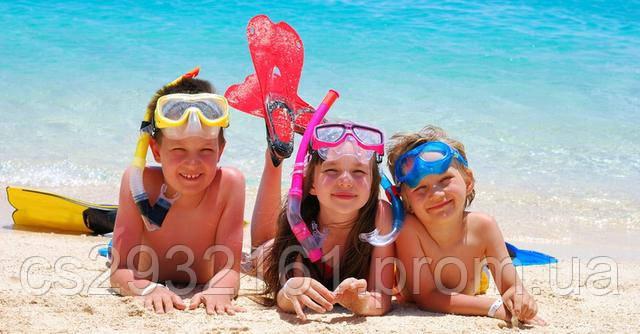 Отдых с детьми на море.
