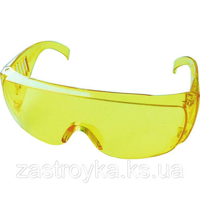 Окуляри захисні Master (жовті) Sigma