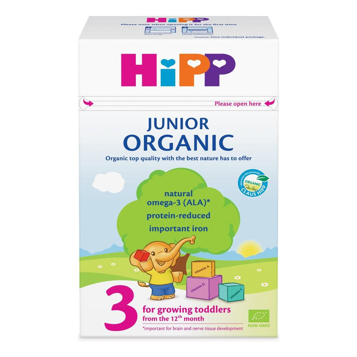 Сухая детская молочная смесь HiPP Organic Junior 3, 500 г